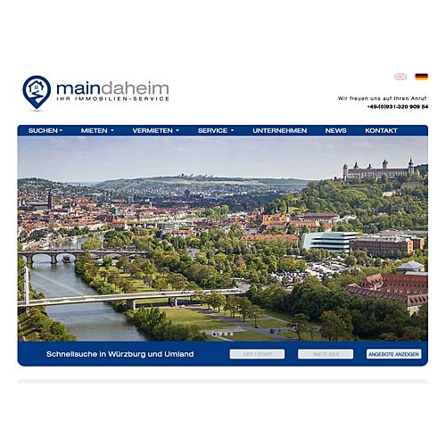 Maindaheim – Immobilienservice Würzburg